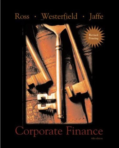 Corporate Finance 2nd Revised Printing + Standard: Stephen A. Ross,