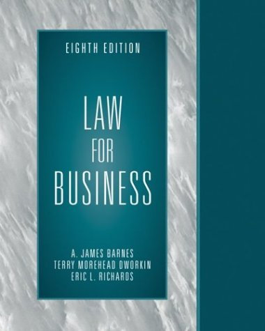 9780072941630: Law for Business