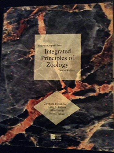 9780072942460: Integrated Principles of Zoology, 12th (Selected Chapters From