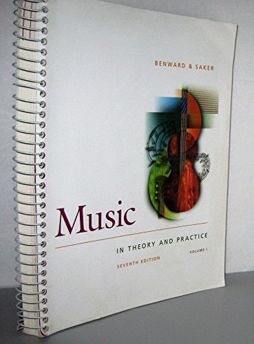 9780072942620: Music: In Theory and Practice : Spiral