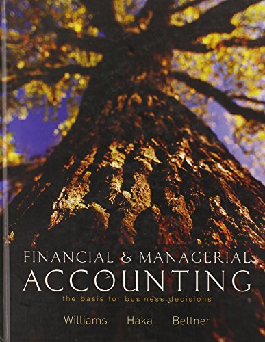 9780072942828: MP Financial and Managerial Accounting: The Basis for Business Decisions w/ My Mentor, Net Tutor, and OLC w/ PW