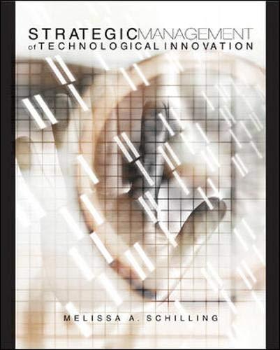 9780072942989: Strategic Management of Technological Innovation