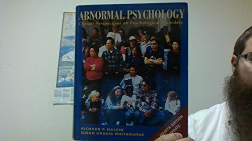 9780072943146: Abnormal Psychology: Clinical Perspectives on Psychological Disorders