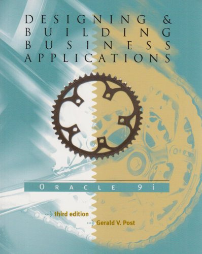 9780072943306: Designing & Building Business Applications: Oracle 9i