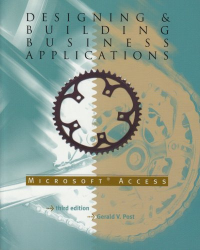 9780072943313: Designing & Building Business Applications with Microsoft Access