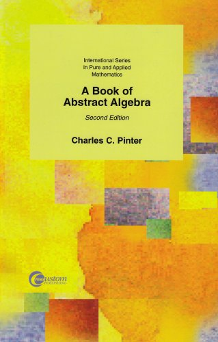 9780072943504: A Book of Abstract Algebra