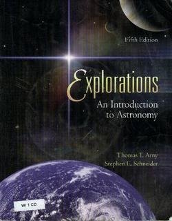 9780072943603: Explorations: An Introduction to Astronomy