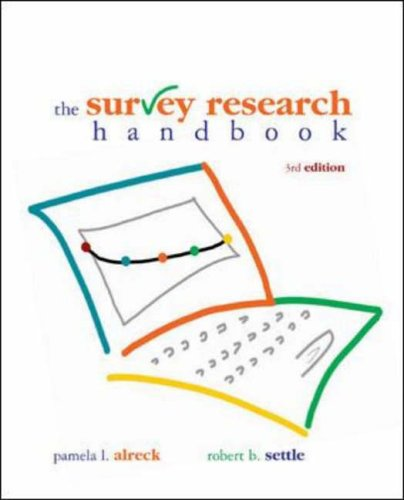 9780072945485: Survey Research Handbook (Paperback) (Irwin Marketing)