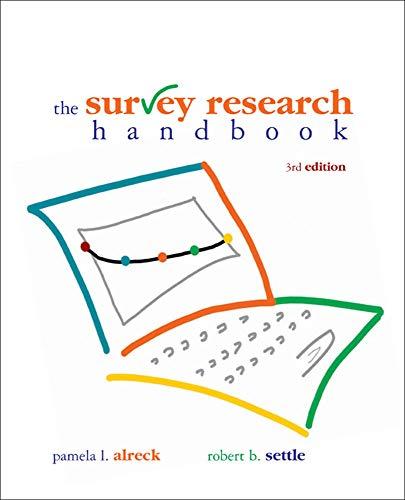 9780072945485: The Survey Research Handbook, Third Edition
