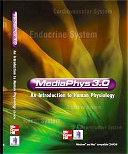9780072945829: MediaPhys: An Introduction to Human Physiology, 3.0 Version CD-ROM