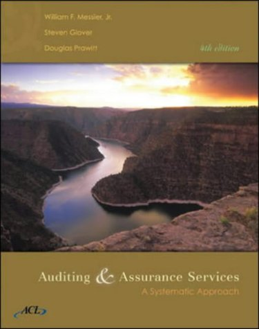 9780072946239: Auditing And Assurance Services: A Systematic Approach