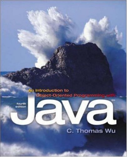 9780072946529: An Introduction to Object-Oriented Programming With Java