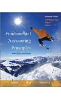 9780072946628: Fundamental Accounting Principles (17th edition), Volume 1 (Chapters 1-12) with Working Papers, w/2003 Krispy Kreme AR, TTCd, NetTutor, OLC w/PW