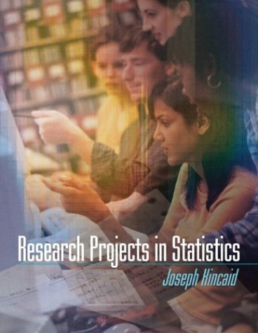 9780072946819: Research Projects in Statistics