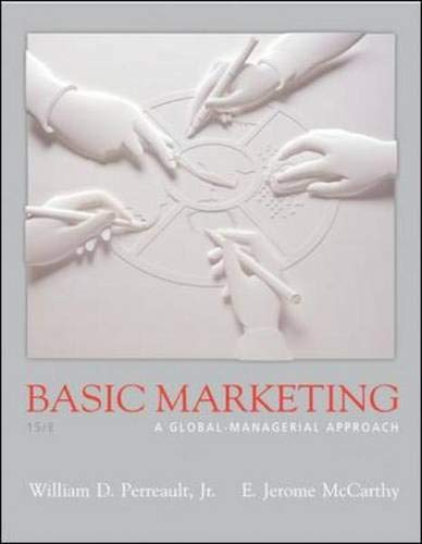 9780072947038: Basic Marketing (Inventory for PrePacks): A Global Managerial Approach