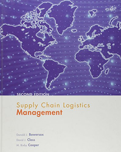 9780072947885: Supply Chain Logistics Management