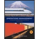 Operations Management: Integrating Manufacturing and Services, 5th: Mark M. Davis,