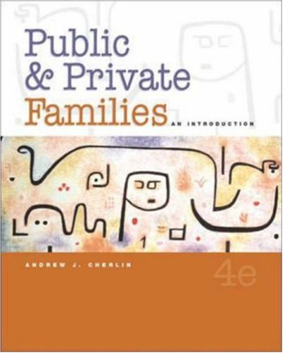 9780072949414: Public and Private Families: An Introduction, with PowerWeb