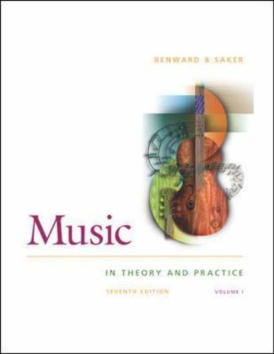 9780072950687: Music in Theory and Practice Vol 1 w/ Anthology CD