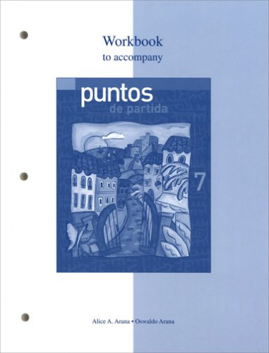 9780072951325: Workbook to accompany Puntos de partida: An Invitation to Spanish