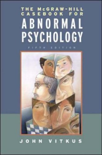 9780072951868: The McGraw-Hill Casebook for Abnormal Psychology