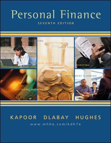 9780072952407: Personal Finance + Student CD-ROM + Personal Financial Planner + SkillBooster