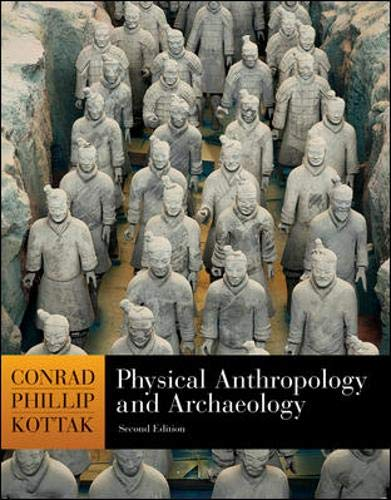 9780072952490: Physical Anthropology And Archaeology