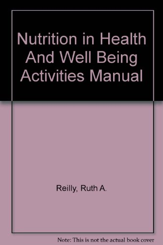 9780072954333: Nutrition in Health and Well Being Activities Manual