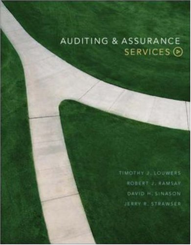 MP Auditing and Assurance Services w/ OLC: Timothy J Louwers,