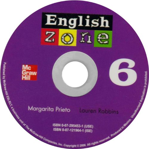 9780072954531: ENGLISH ZONE 6 AUDIO CD: Bk. 6