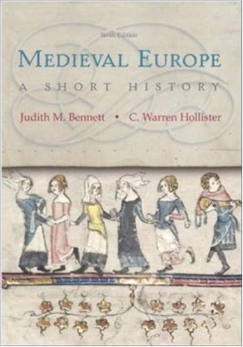 9780072955156: Medieval Europe: A Short History, 10th Edition