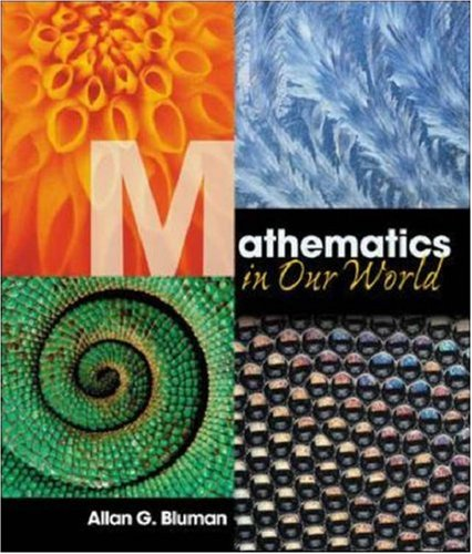 9780072956115: With MathZone (Mathematics in Our World)