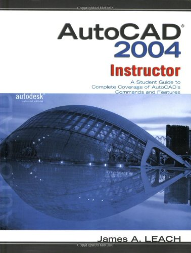 9780072956405: MP AutoCAD 2004 Instructor w/bind in sub card