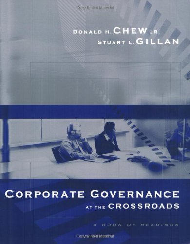 9780072957082: Corporate Governance at the Crossroads: A Book of Readings (McGraw-Hill/Irwin Series in Finance, Insurance, and Real Est)