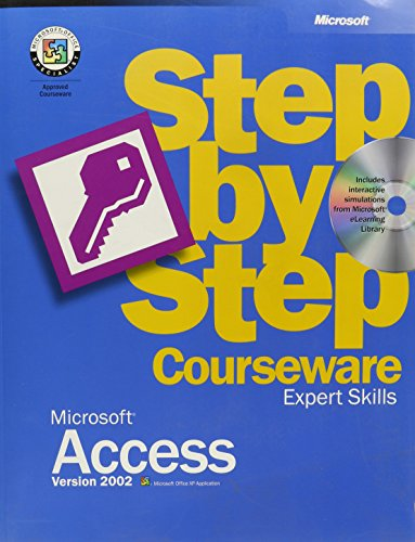 9780072957662: Microsoft Access Version 2002 Step by Step Courseware Expert Skills