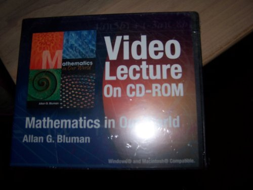 9780072958362: Video CD-ROM's for use with Mathematics in Our World
