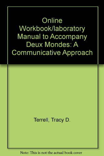 9780072959420: Quia Online Workbook/Laboratory Manual Access Card for Deux mondes: A Communicative Approach