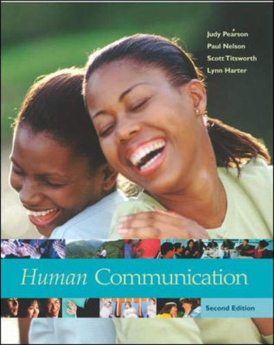 9780072959888: Human Communication
