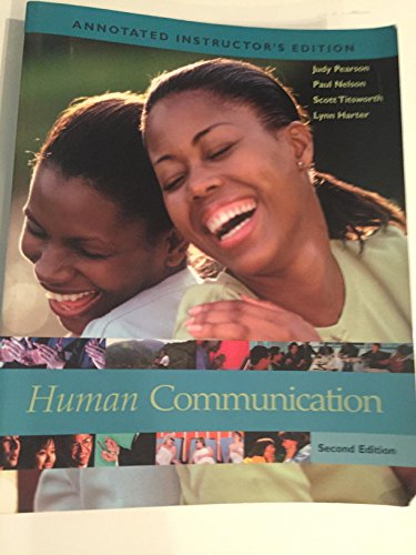 9780072959918: Human Communication