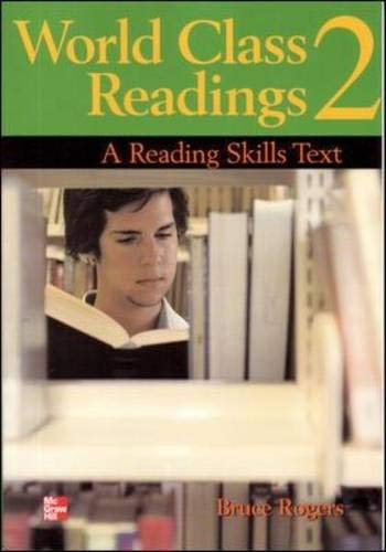 9780072961256: World Class Readings: A Reading Skills Series Text- BOOK 2 Audio CD (Bk. 2)