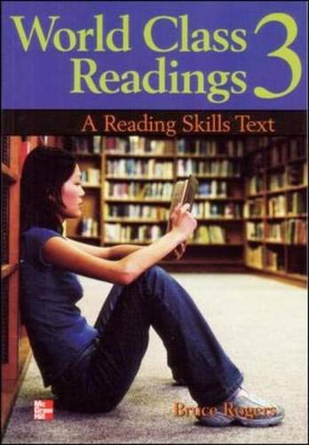 9780072961270: World Class Readings: A Reading Skills Series Text- BOOK 3 Audio CD