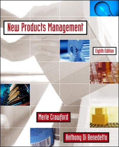 9780072961447: New Products Management (Mcgraw Hill/Irwin Series in Marketing)
