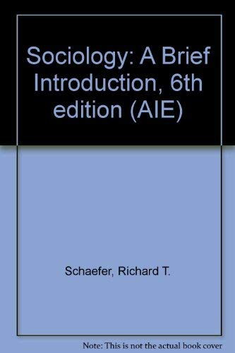9780072961614: Sociology: A Brief Introduction, 6th edition (AIE)