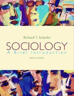 9780072961690: Sociology a Brief Introduction