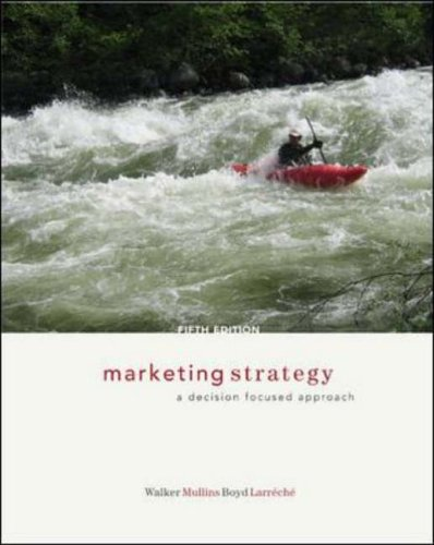 9780072961904: Marketing Strategy: A Decision Focused Approach (McGraw-Hill/Irwin Series in Marketing)