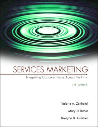 9780072961942: Services Marketing