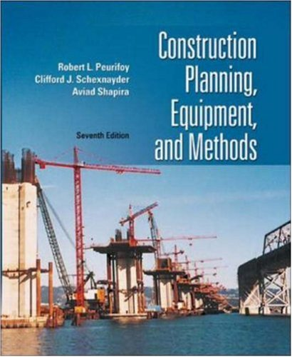 9780072964202: Construction Planning, Equipment, and Methods (Mcgraw-Hill Series in Civil Engineering)