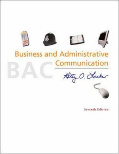9780072964462: Business and Administrative Communication