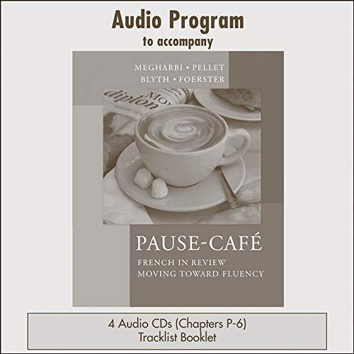 9780072964875: Audio CDs  to accompany Pause-café