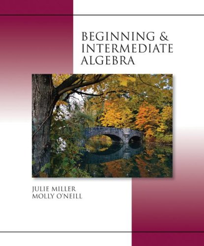 9780072965339: Beginning and Intermediate Algebra